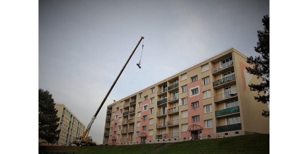 Rénovation de 300 logements à Saint Chamond / Photo Fabien Hisbacq